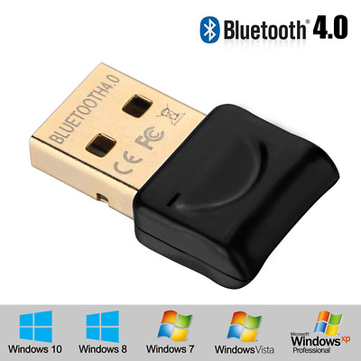 Bluetooth USB Adapter, CSR 4.0 Wireless Receiver for Laptop, Computer And More