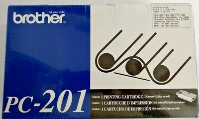 Brother PC-201 PC201 Fax Toner Printing Cartridge NEW Office Product