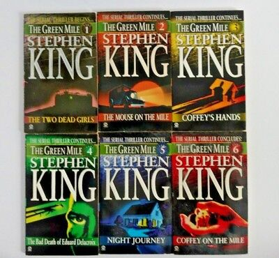 Stephen King The Green Mile Series Books 1 6 Complete Set 1996