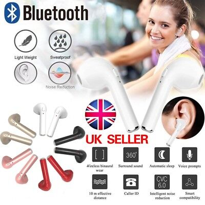 Mini Twins True Wireless In-Ear Stereo Bluetooth Earphone Earbuds Headset UK