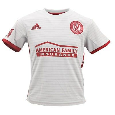 0f737040562 Atlanta United FC Official MLS Adidas Apparel Youth Kids Size Athletic  Jersey