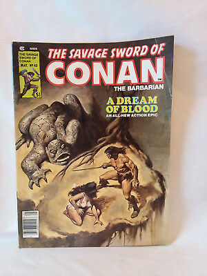 Marvel Comics Group magazine 1979, The Savage Sword of Conan #40, VG