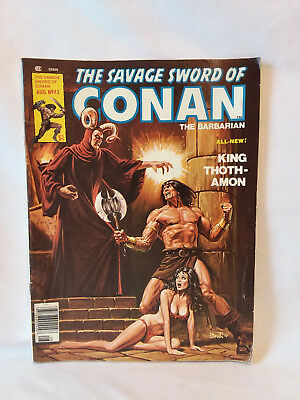 Marvel Comics Group magazine 1979, The Savage Sword of Conan #43, VG