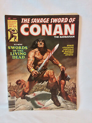 Marvel Comics Group magazine 1979, The Savage Sword of Conan #44, VG