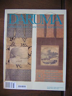 Daruma Japanese Art  Antiques Magazine #56 Meiji Art Painting Postcards Prints