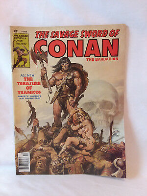 Marvel Comics Group magazine 1979, The Savage Sword of Conan #47, GD+