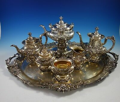 Francis I by Reed and Barton Sterling Silver Tea Set 7pc (#2913) Magnificent!
