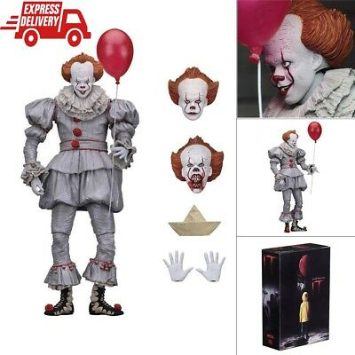 "7"" NECA IT Ultimate Pennywise Stephen King's Clown Action Figure Movie Model Toy"