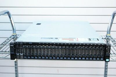 Dell Poweredge R720XD 2 X SIX CORE 2.10GHZ E5-2620 V2 8GB 2 x 300GB SERVER