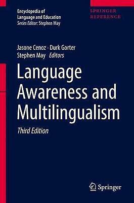 Language Awareness and Multilingualism (English) Hardcover Book Free Shipping!