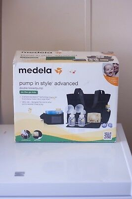 Medela Pump In Style Advanced Double Breast pump & On-the-go-tote (57063)