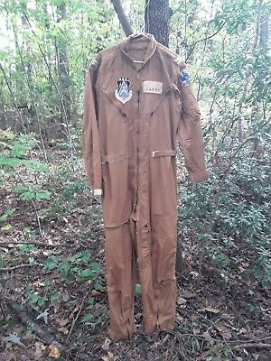 Vietnam Flight Suit USAF named patches 3553 PTS 3550th Pilot Training Wing