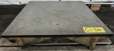 "24"" x 24"" Cast Iron Surface Fixture Layout Plate for Metalworking"