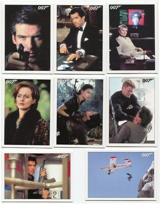2015 James Bond Archives 102 card GoldenEye Insert Set