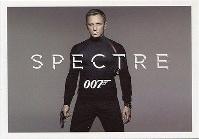 2015 James Bond Archives CT1 Spectre Preview Card Case-Topper
