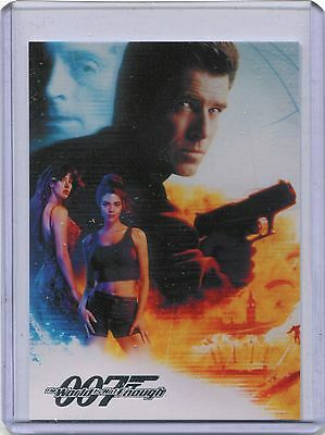 2016 James Bond Classics CT1 World Is Not Enough Case Topper Poster Card