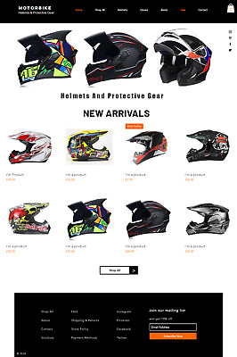 Motorbike Helmet Business for sale | Suppliers & Website | No Stock Needed