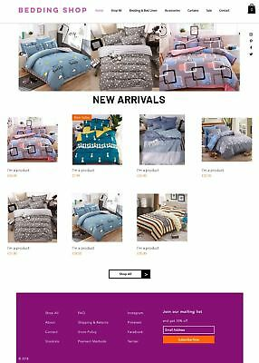 Bedding Business for sale | Suppliers & Website | No Stock Needed