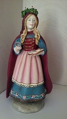 "DUNCAN ROYALE St. Lucia History of Santa II 11"" Figurine Limit Edition"