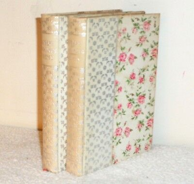Antique 6x4in Robert Browning Poems & Idylls of The King Tennyson Donohue & co