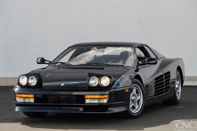 1987 Ferrari Testarossa  1987 Ferrari Testarossa in Black Only Fresh Major 8k Miles CNC Motors California