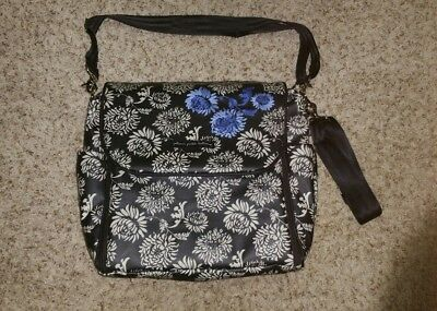 Petunia Pickle Bottom Diaper Bag Backpack/Crossbody With Changing Pad NEW NO TAG