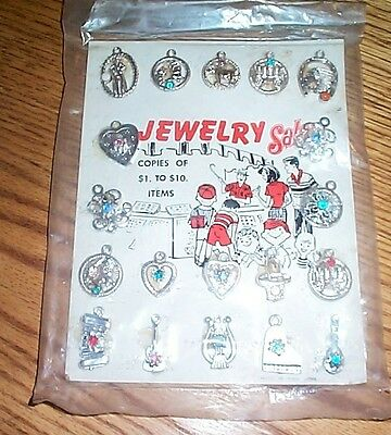 Vintage gumball machine charms and Jewelry  FREE SHIPPING #31
