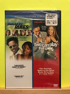 Brand New ~ Breakin All the Rules/Two Can Play That Game (DVD, 2009, 2-Disc Set)