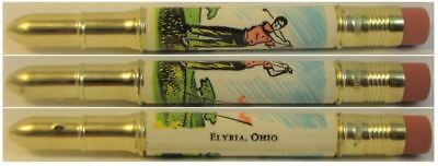 RESTORED by Ragan - Vintage Bullet Pencil - Elyria, Ohio - Golf  EF-1026