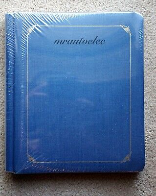Creative Memories Blue 8x10 Album Coverset BNIP WITH PAGES