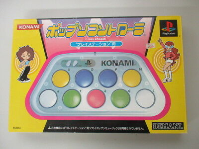 PS1  Playstation POPN CONTROLLER Konami Boxed JAPAN NO.1