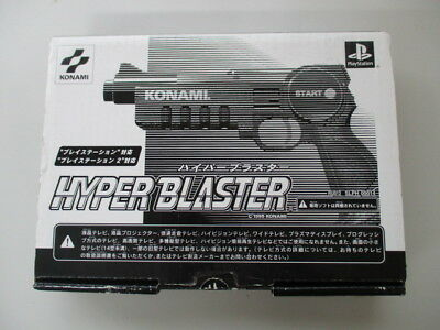 PS1 Playstation Gun Controller SLPH-00014 Boxed JP No.1