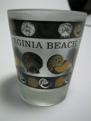 Two Shot Glasses from Virginia Beach & Washington DC USA - Clean, never used