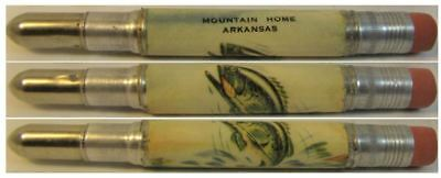RESTORED by Ragan - Vintage Bullet Pencil - Mountain Home, Arkansas CE-1071