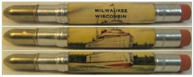 RESTORED by Ragan - Vintage Bullet Pencil - Milwaukee, Wisconsin - Ship CE-1090