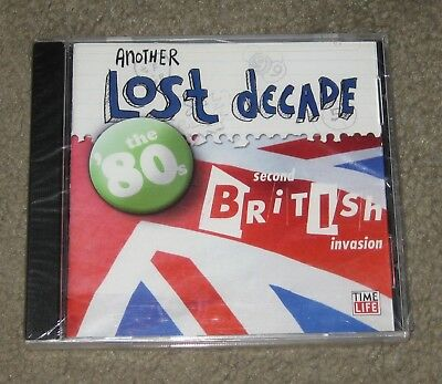 Another Lost Decade - The 80's Second British Invasion (CD, 2005, Time Life)