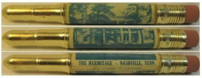RESTORED by Ragan - Vintage Bullet Pencil - The Hermitage, Nashville, Tenn 1145