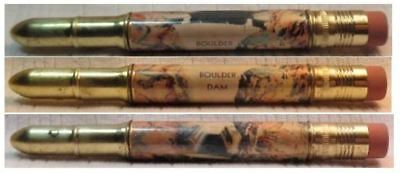 RESTORED by Ragan - Vintage Bullet Pencil - Boulder Dam EF-1146