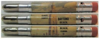 RESTORED by Ragan - Vintage Bullet Pencil - Daytona Beach, Florida CE-1165