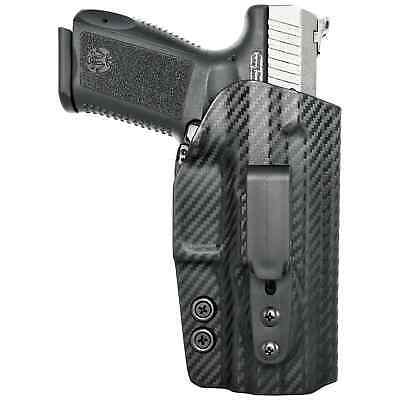 Compatible W// Suppressor Height Sights /& Threaded Barrel IWB TP9SFT Holster
