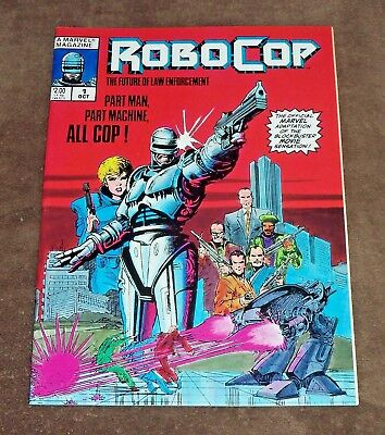 RoboCop #1 (October, 1987) Marvel Comic Magazine NM+ 9.6!