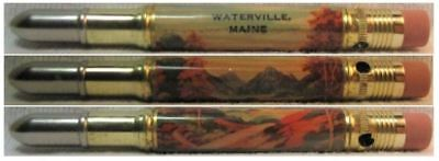 RESTORED by Ragan - Vintage Bullet Pencil - Waterville, Maine EF-1193