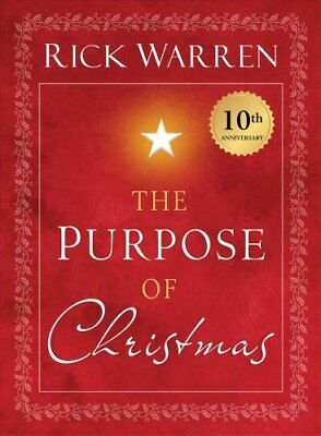 The Purpose of Christmas by Rick Warren (2018, Paperback)