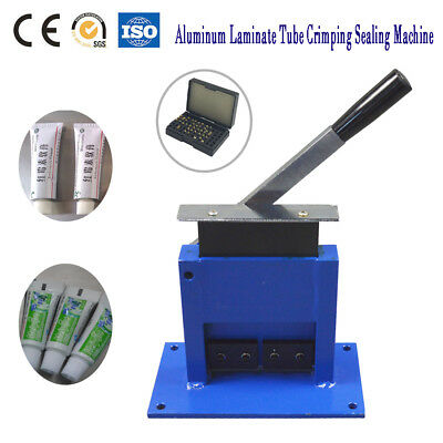 Manual Aluminum Tube Sealing Machine Used For Ointment Tube Metal Hose Sealing
