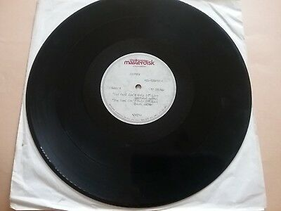 Journey Sept 4 1986 Girl Can't Help It Live 2 Cut Acetate Vg Clean Rare Vtg Htf!