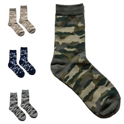 Cotton Comfortable Camouflage Stil Socken Mens Winter Outdoor Socken Nett