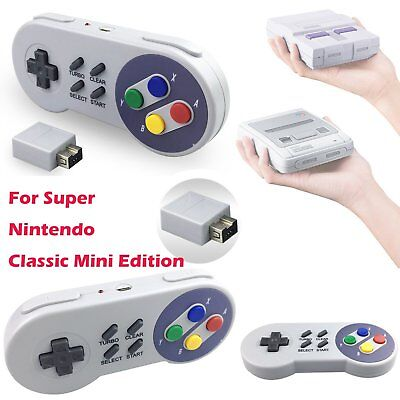2.4G Wireless Controller for  Super Nintendo SNES mini Classic Edition Replace