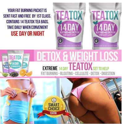 Detox Tea Colon Cleanse Fat Burn Set Weight Loss Tea Teatox Slimming Tea