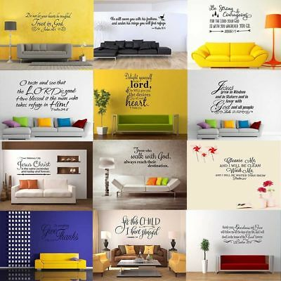 Removable Quote Wall Sticker Vinyl Art Decal Mural Home Bedroom Decor DIY