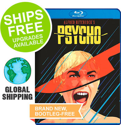Psycho (Blu-ray, 2016) NEW, Hitchcock, Anthony Perkins, Janet Leigh, Vera Miles